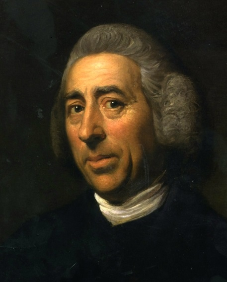 """Lancelot """"Capability"""" Brown painted by Nathaniel Dance, c.1773"""