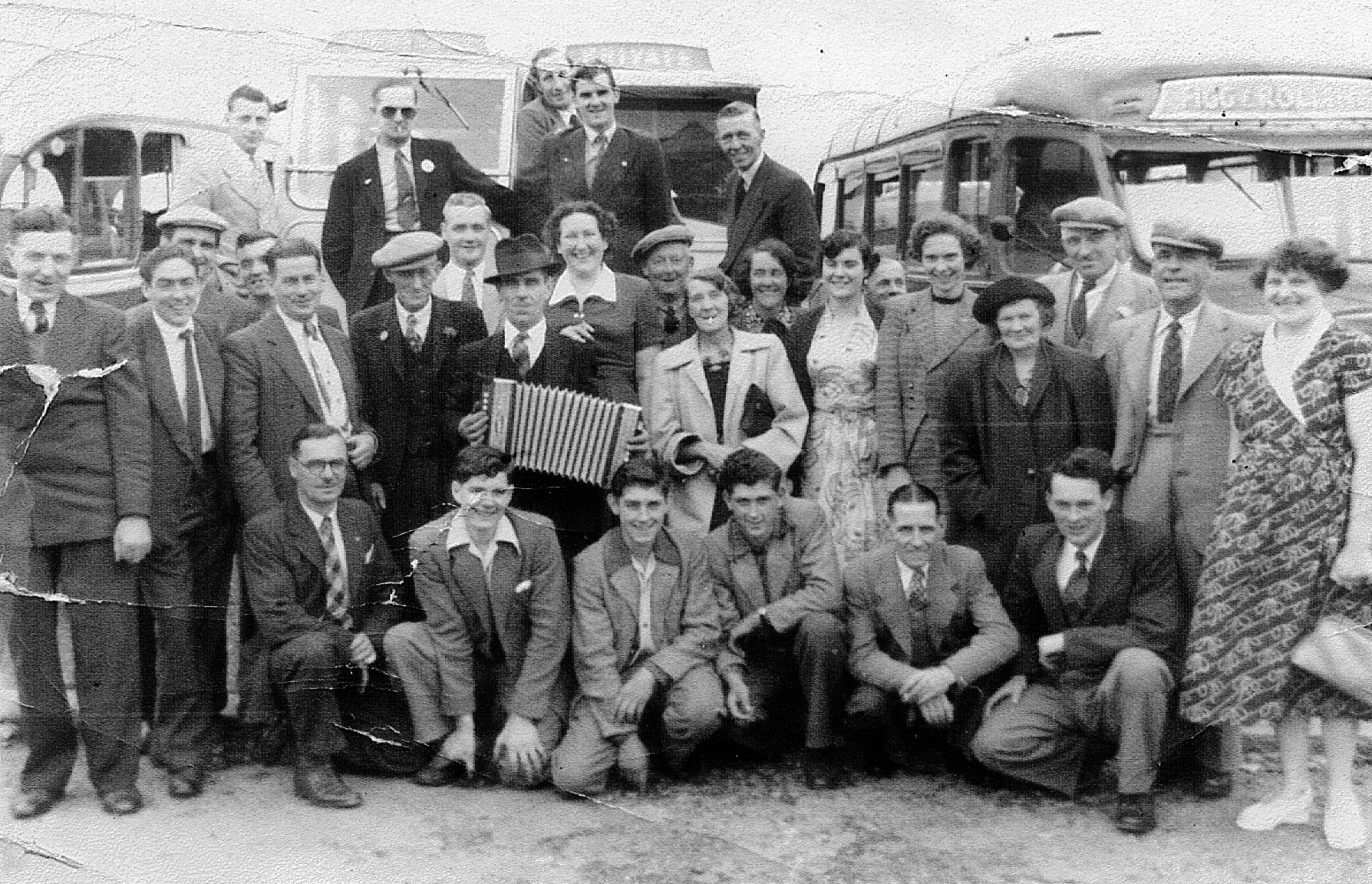 The George Fenstanton - outing to Southend - 1949