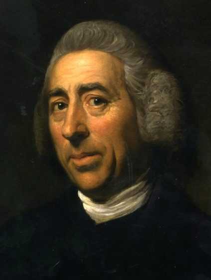 """Lancelot """"Capability"""" Brown  by Nathaniel Dance, c.1773"""